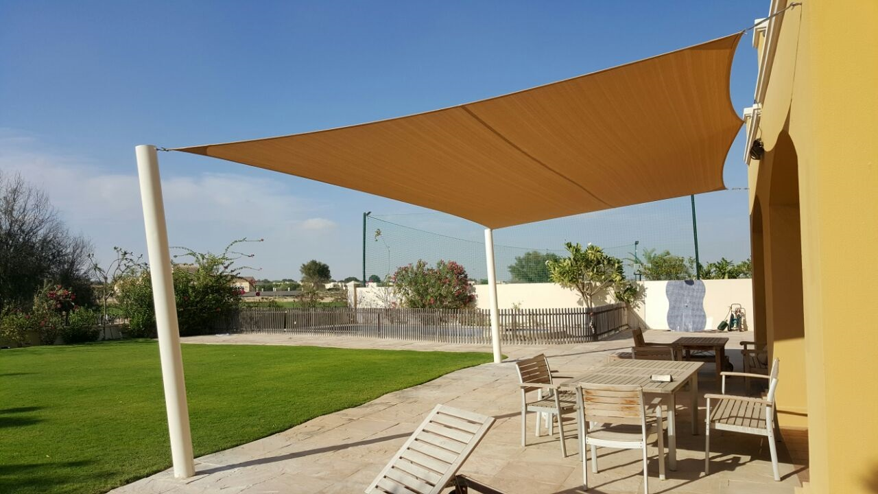 Dubai Manufacturer Sun Shade Sail For Residential And