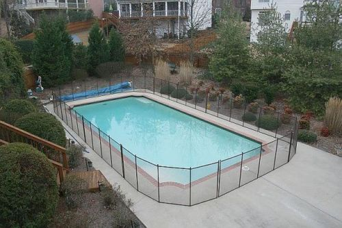 Removable Safety Fence Mesh Swimming Pool Safety Fence